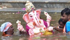 1.19L idols immersed on 3rd day of Ganesha Chaturthi