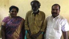 Tamilisai visits auto driver attacked by BJP workers