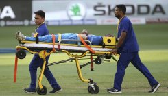 India vs Pak: Pandya stretchered off the field