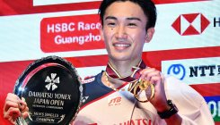 Momota claims Japan Open