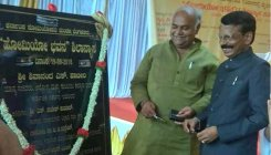 Foundation stone laid for 'Homeo Bhavan'