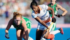 Indian eves lose to Ireland in shoot-out
