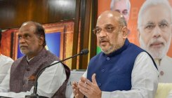 Shah accuses Rahul of supporting 'urban Naxals'