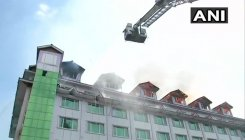Fire breaks out at hotel in Srinagar none hurt