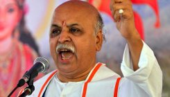 Modi has time to visit mosques, not Ayodhya: Togadia