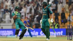 Malik's unbeaten fifty saves Pak the blushes