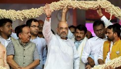 Amit Shah targets Rahul over illegal migrants issue
