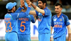 Rohit lauds bowlers' consistency