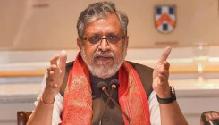 Sushil Modi draws flak for his 'plea to criminals'