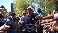 Tiger ready for the roar of fans