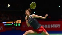 Saina squanders matchpoint to lose to Okuhara