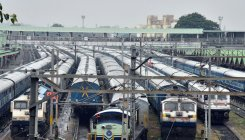 Train services to remain suspended till Oct 10