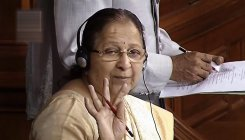Sumitra's 'reservations' on quota may stir controversy