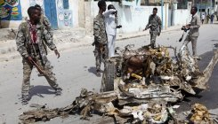 6 attackers shot dead in Somalia presidential palace