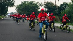 Trin Trin: Mysureans pedal for a healthy heart