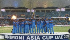 Asia Cup: winners, but barely so