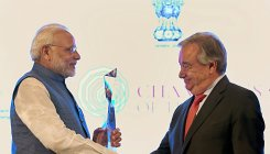UN award in recognition of Indian culture, writes Modi