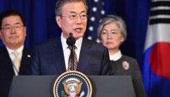 Moon urges US move towards formally ending Korean War