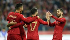 Portugal ruin Lewandowski's century celebration