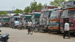 Truckers on strike to protest diesel price hike