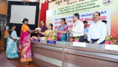MRPL distributes LED bulbs to neighbouring villagers