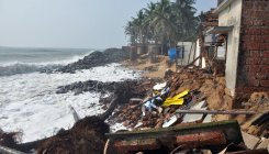 Sea erosion continues in Ullal