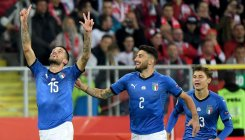 Last-gasp Biraghi strike saves Italy
