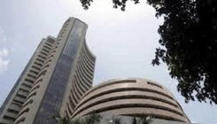 Sensex succumbs to profit-booking, tanks 383 pts