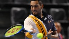 Kyrgios battles past Rublev