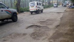 Potholes pose danger to vehicle users