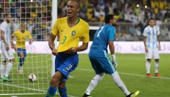 Brazil's Miranda silences Argentina with last-gasp goal