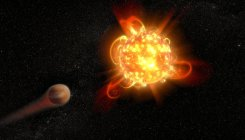 Superflares from young stars may imperil planets: NASA