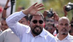 Maldives' opposition leader convicted of bribery freed