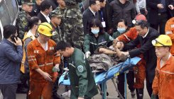 China emergency crews struggling to rescue 18 miners