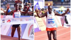Brilliant Kamworor claims third title