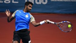 Prajnesh exacts revenge on Fabbiano