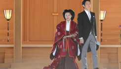Japanese Princess Ayako marries commoner