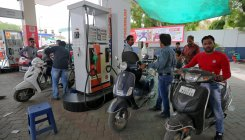 Petrol price cut by 21 paise/litre, diesel by 17 paise