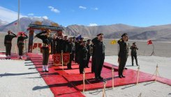 India, China army personnel hold meeting in Ladakh