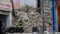 1 killed  in buildings collapse in Marseille