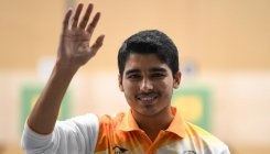 Saurabh shoots gold at Asian meet