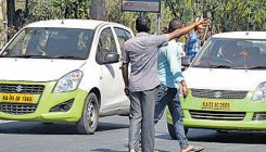 Cab driver slaps woman techie over road rage