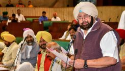 Amarinder writes to Sushma on Kartarpur Sahib