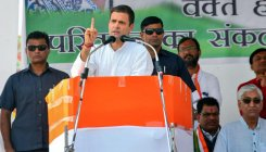Modi waived loans of select industrialists: Rahul