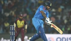 Dhawan's 92 powers India to a six-wicket win over WI