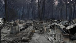 At least 42 killed in northern California wildfire
