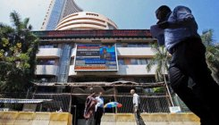 Sensex up 46 points in choppy morning trade