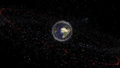 Space junk: clean-up is urgent