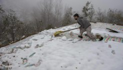 Cold wave intensifies across Kashmir