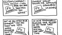 Artist criticises Facebook's community standards